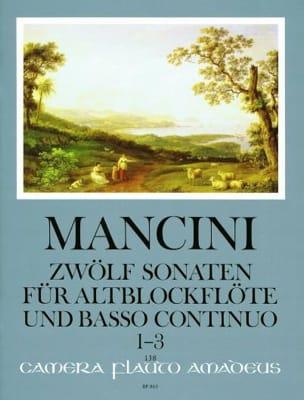 12 Sonaten - Nr. 1-3 - Altblockflöte U. Bc laflutedepan