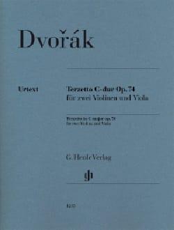 Terzetto, op. 74 DVORAK Partition Trios - laflutedepan