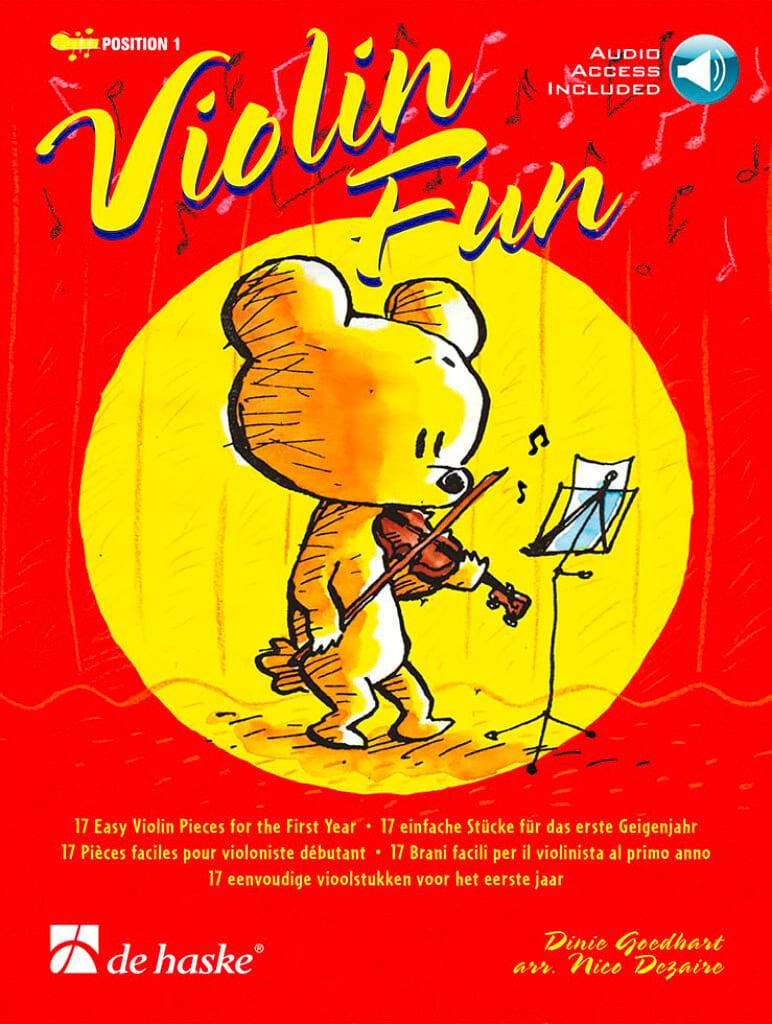 Violon Fun - Dinie Goedhart - Partition - Violon - laflutedepan.com