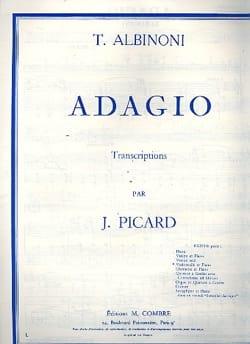 Adagio ALBINONI Partition Violoncelle - laflutedepan
