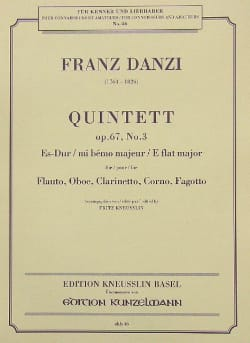 Quintett Es-Dur op. 67 Nr. 3 -Stimmen - laflutedepan.com