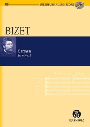 Carmen - Suite n° 2 BIZET Partition Petit format - laflutedepan