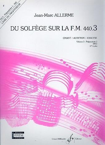 du Solfège sur la FM 440.3 - Chant Audition Analyse - PROFESSEUR - laflutedepan.com