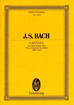 Cantata Du Hirte Israel, Höre BWV 104 - BACH - laflutedepan.com