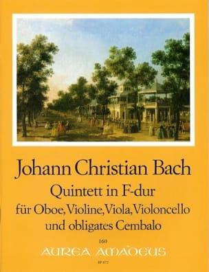 Johann Christian Bach - Quintet in F Major - Partition - di-arezzo.co.uk