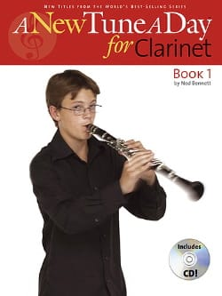 A New Tune a Day, book 1 - Clarinet Ned Bennett laflutedepan