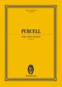 The Fairy Queen PURCELL Partition Grand format - laflutedepan