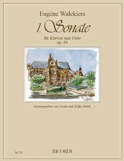 Sonate n° 1 Op. 89 - Flûte et piano - laflutedepan.com