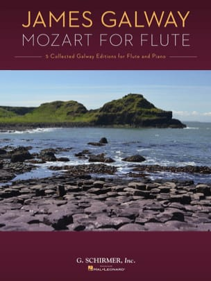 James Galway Mozart for Flute MOZART Partition laflutedepan