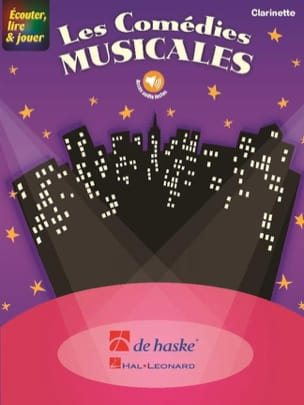 Les Comédies Musicales - Clarinette Partition laflutedepan