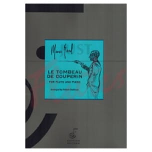 Le Tombeau de Couperin - Flûte et Piano - RAVEL - laflutedepan.com