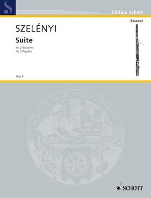 Suite -2 Fagotte - Istvan Szelényi - Partition - laflutedepan.com