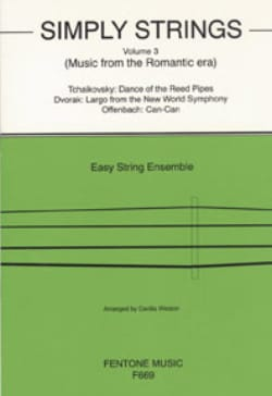 Simply Strings, Volume 3 - String ensemble Cecilia Weston laflutedepan