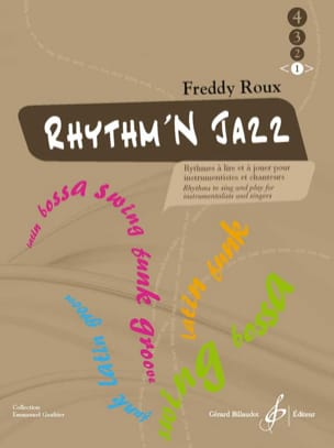 Freddy Roux - Rhythm'n Jazz Volume 1 - Partition - di-arezzo.co.uk