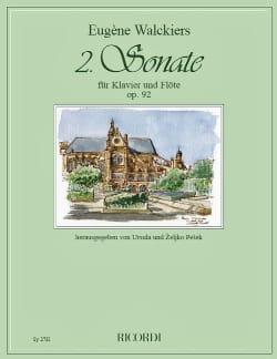 Sonate n° 2 Op. 92 - Flûte et piano Eugene Walckiers laflutedepan
