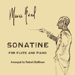 Sonatine - Flûte et Piano RAVEL Partition laflutedepan