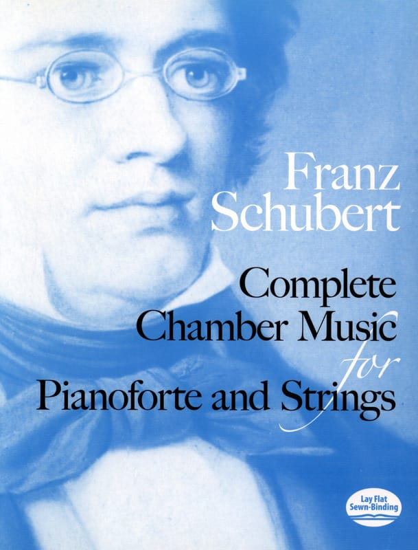 Complete Chamber Music For Piano And Strings - Full Score - laflutedepan.com