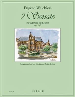 Sonate n° 2 Op. 92 - Flûte et piano - laflutedepan.com
