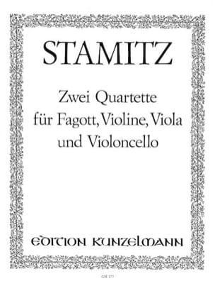 2 Quartette op. 19 Nr. 5-6 - Fagott Violine Viola Cello - laflutedepan.com