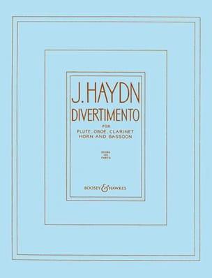 Divertimento -Wind quintet - Score + parts HAYDN laflutedepan