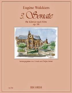 Sonate n° 3 Op. 98 - Flûte et piano Eugene Walckiers laflutedepan