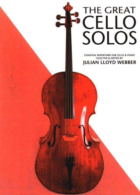 The great cello solos - Webber Julian Lloyd - laflutedepan.com