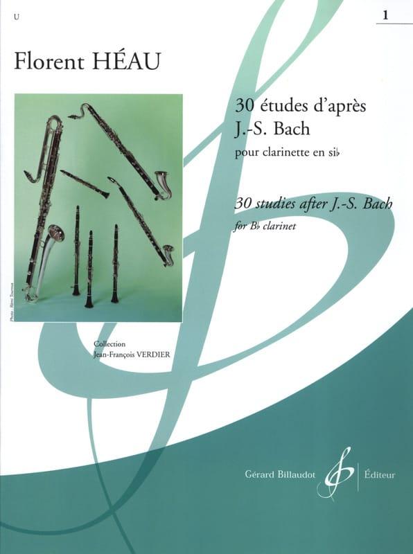 30 Etudes d'après J. S. Bach Volume 1 - laflutedepan.com