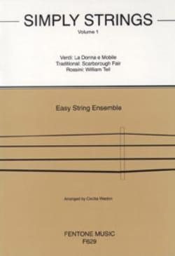 Simply Strings Volume 1 - String Ensemble Cecilia Weston laflutedepan