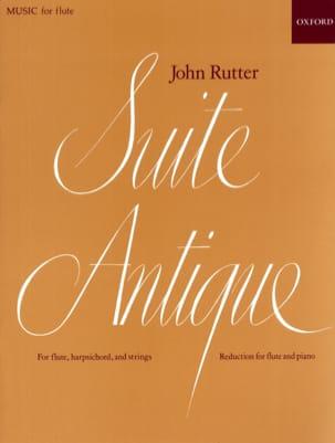 Suite antique - Flûte piano RUTTER Partition laflutedepan