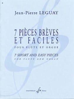 7 Pièces brèves et faciles Jean-Pierre Leguay Partition laflutedepan