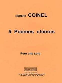 5 Poèmes Chinois Robert Coinel Partition Alto - laflutedepan