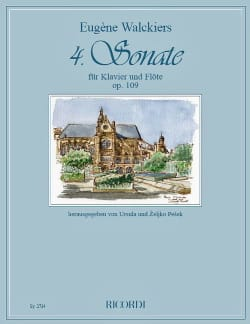 Sonate n° 4 Op. 109 - Flûte et piano Eugene Walckiers laflutedepan