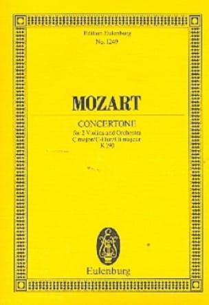 Concertone C-Dur KV 190 - Partitur - MOZART - laflutedepan.com