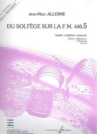 du Solfège sur la FM 440.5 - Chant Audition Analyse - PROFESSEUR - laflutedepan.com