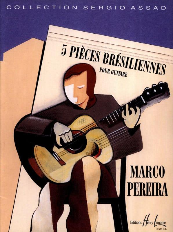 5 Pièces Brésiliennes - Pereira - Partition - laflutedepan.com