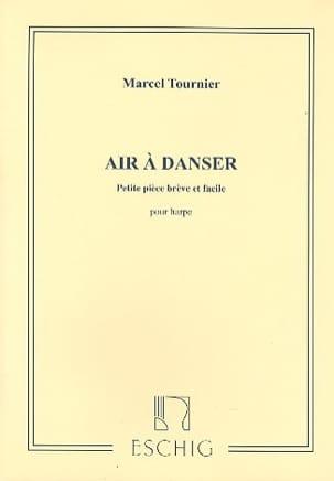 Air à Danser Marcel Tournier Partition Harpe - laflutedepan