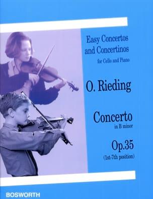 Concerto si mineur op. 35 - Violoncelle Oscar Rieding laflutedepan