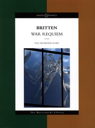 War Requiem - Score BRITTEN Partition Grand format - laflutedepan