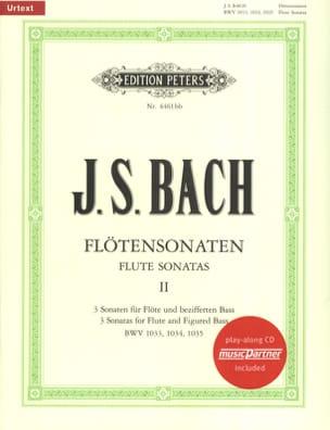 Flötensonaten Volume 2 BACH Partition laflutedepan