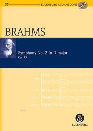 Symphonie N°2 En Ré Maj. Op.73 BRAHMS Partition laflutedepan