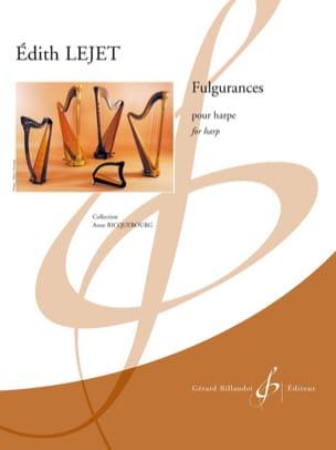 Fulgurances - Harpe Edith Lejet Partition Harpe - laflutedepan