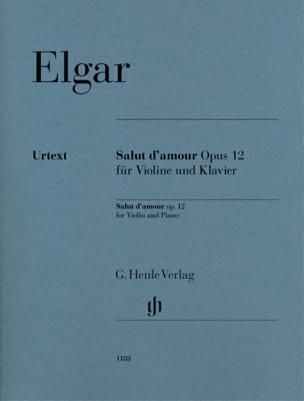 Salut d'Amour - Violon et Piano Edward Elgar Partition laflutedepan