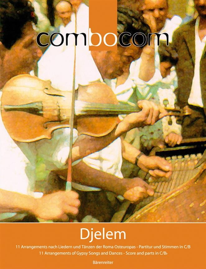 Combocom - Djelem - Paul Hoorn - Partition - laflutedepan.com