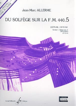 Jean-Marc Allerme - of the Solfeggio on the FM 440.5 - Play Rhythm - Partition - di-arezzo.co.uk