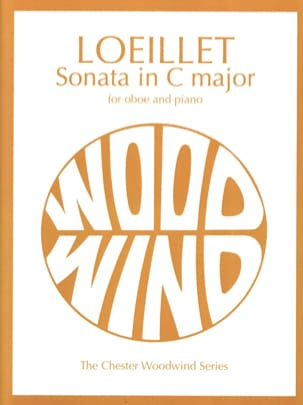 Sonata in C major - Oboe piano LOEILLET Partition laflutedepan