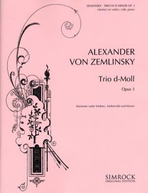Trio d-moll op. 3 - Klarinette Violine Cello Klavier laflutedepan