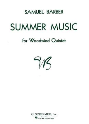 Summer Music op. 31 - Woodwind quintet - Score + Parts laflutedepan