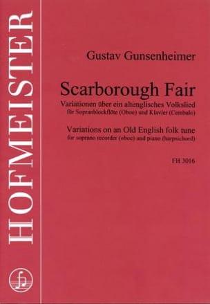 Scarborough Fair - Gustav Gunsenheimer - Partition - laflutedepan.com