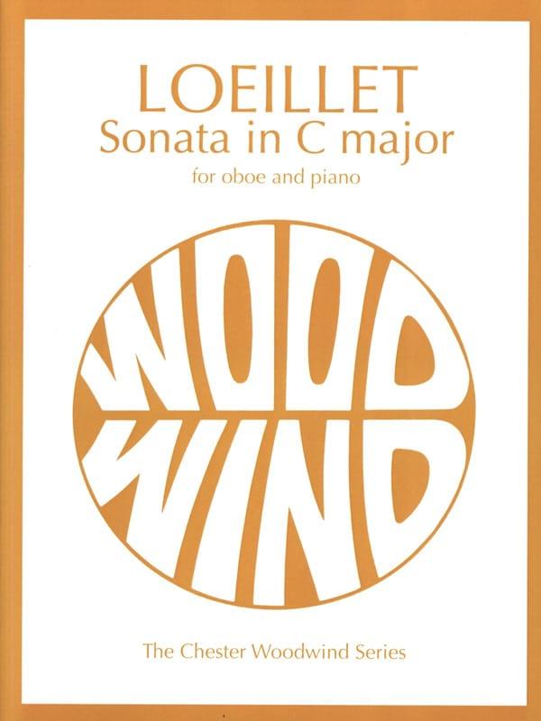 Sonata in C major - Oboe piano - LOEILLET - laflutedepan.com