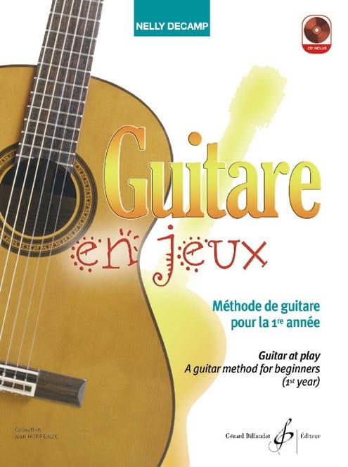 Guitare en Jeux - Nelly Decamp - Partition - laflutedepan.com